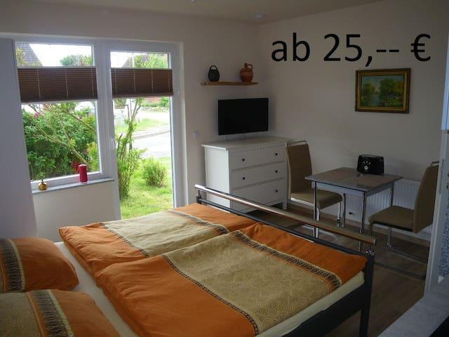 2015 renoviertes Doppelzimmer Amrum - Dagebüll - Daire
