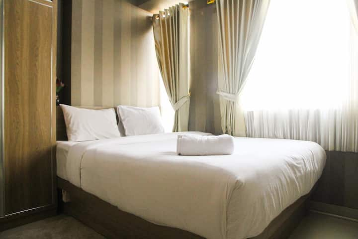1BR with Extra Balcony The Oasis Cikarang Apt