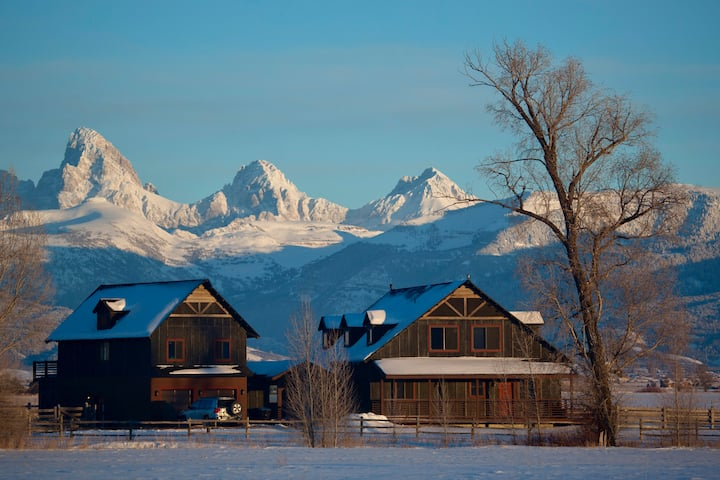 Postcard Views, Teton Valley ID