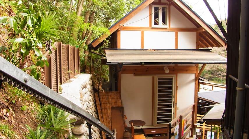Riverside Ina Cottage 竹の家 - Akiruno-shi - Casa