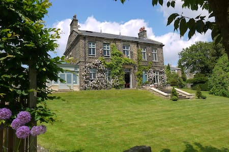 Grand Victorian House - luxury B&B - Hathersage