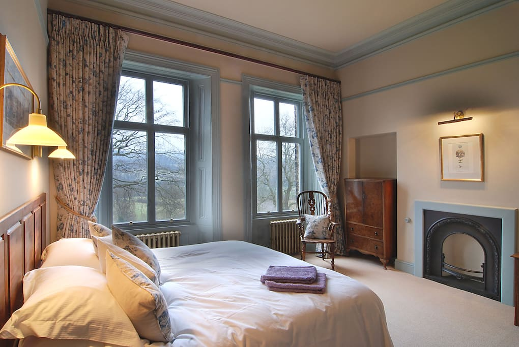 En-suite facilities and spectacular view