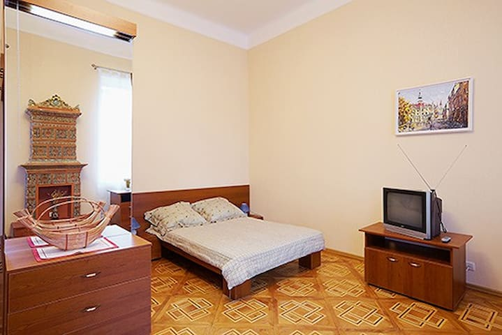 Nice Apartment in Lviv Center, WiFi
