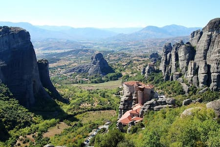 Thalia Rooms - Meteora Guesthouse - KASTRAKI - Bed & Breakfast