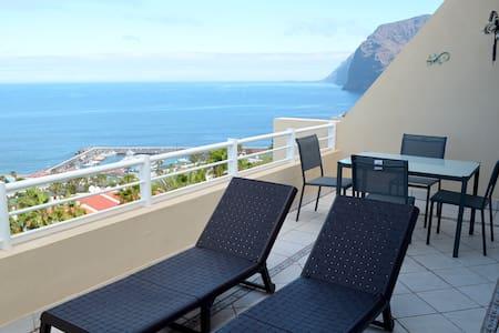 Penthouse duplex with amazing view - 桑蒂亞戈德爾泰德(Santiago del Teide)