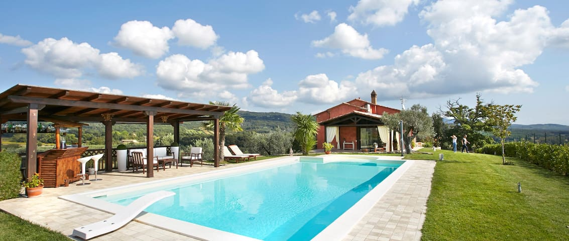 Casa vacanze con piscina in Toscana - Roccastrada - Villa