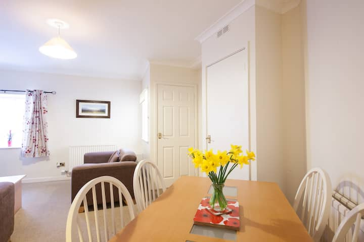 Ground floor apartment Brecon town Free Wifi