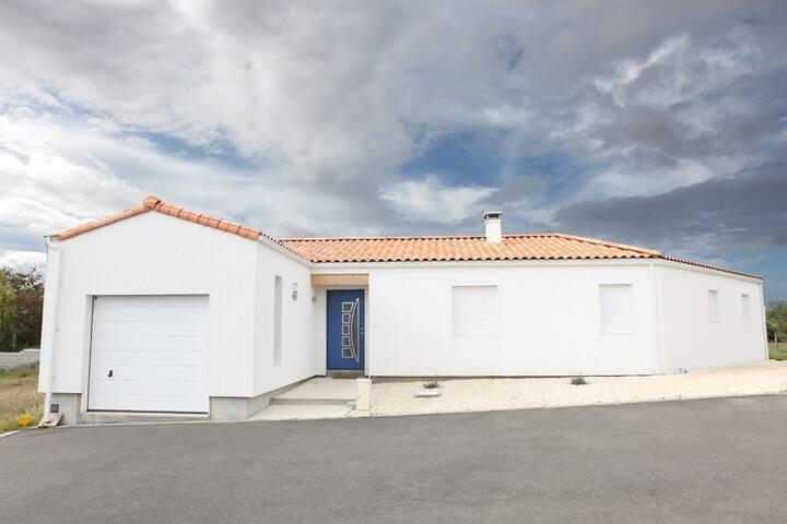 maison  moderne - Saint-Michel-en-l'Herm - Ev