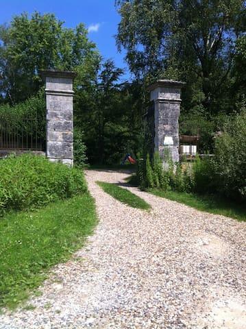 Belle maison de campagne cadre rare - Saintines - บ้าน