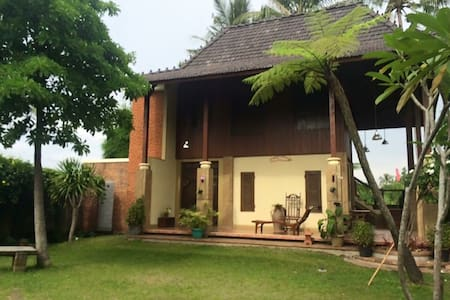 Modern Java house at Kaliurang - Vila