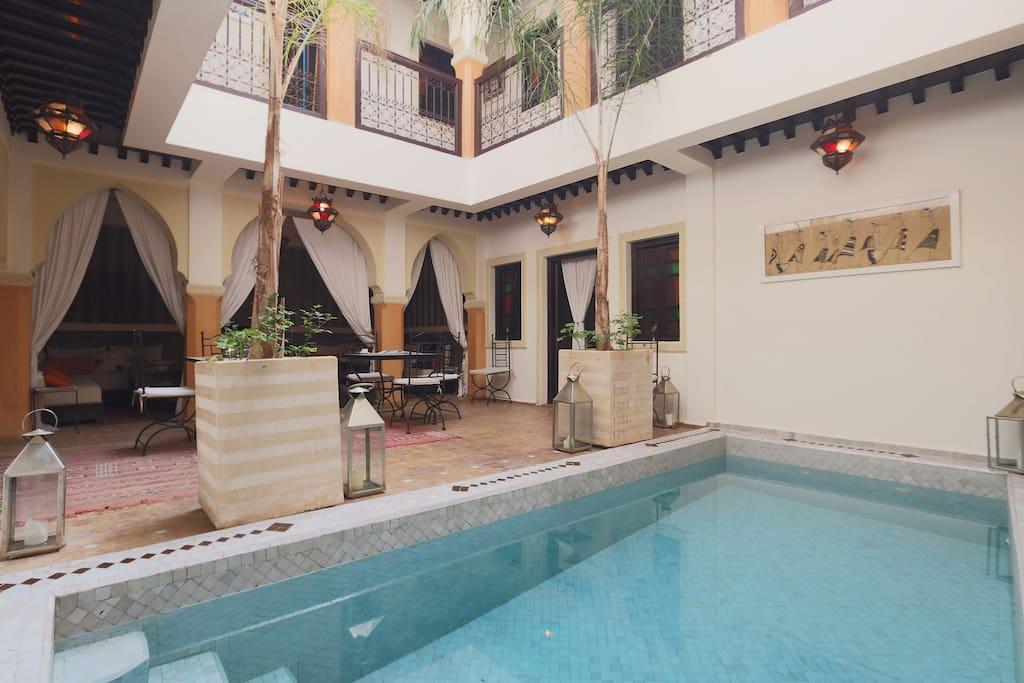 lilas 22 maisons louer marrakech marrakech tensift al haouz maroc. Black Bedroom Furniture Sets. Home Design Ideas