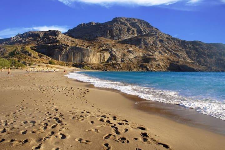 PANORAMA(1-6 people,seaview,pool) - Πλακιάς - Flat