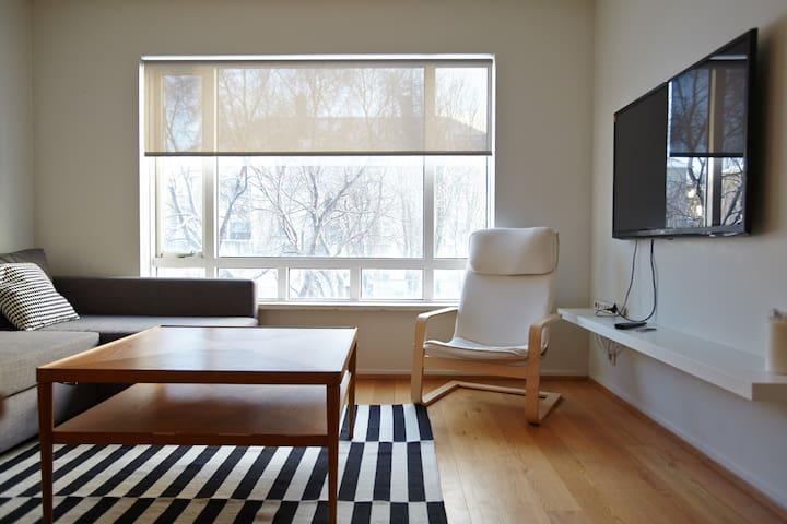 Modern Cozy Apartment @ Central - Reykjavík - Lejlighed