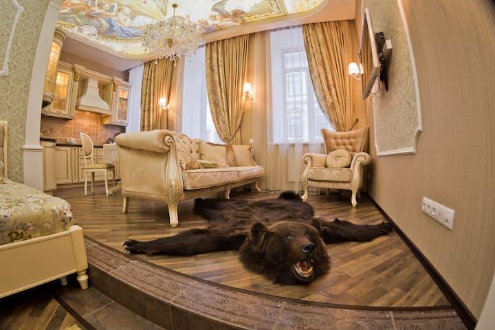 Апартаменты Де люкс (лучше в  городе не найдёте) - Nizhnij Novgorod - Obsługiwany apartament