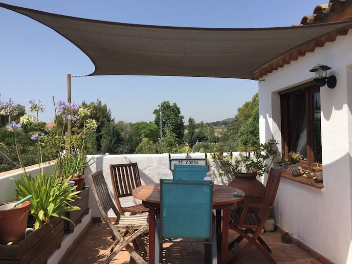 Rustic style house 5 km from Sitges