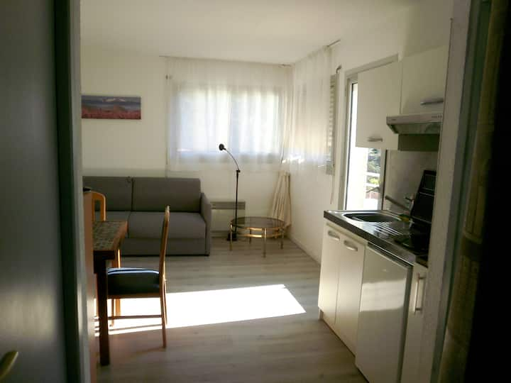 Studio in Vernet-les-Bains, with wonderful mountain view - 30 km from the slopes