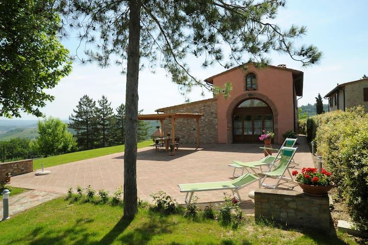 Lovely 3 bedroom Villa in Gambassi  - Gambassi Terme - Maison