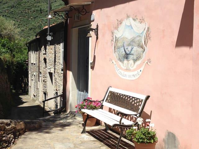 Casone antico in un romantico borgo - Dolcedo - Casa