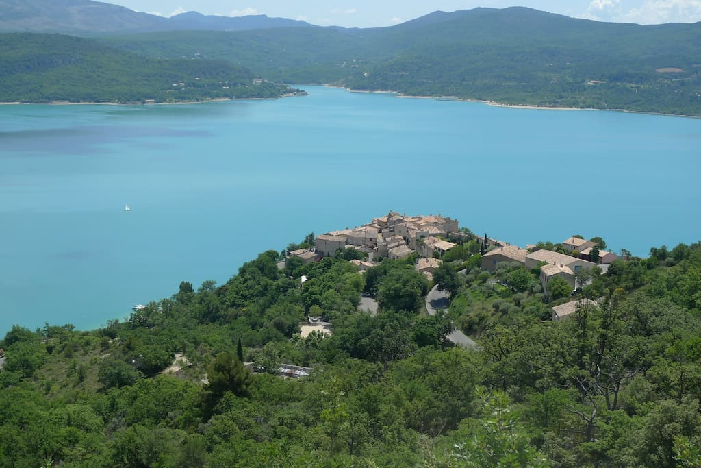 Village house in provence france apartments for rent in - Office du tourisme sainte croix du verdon ...