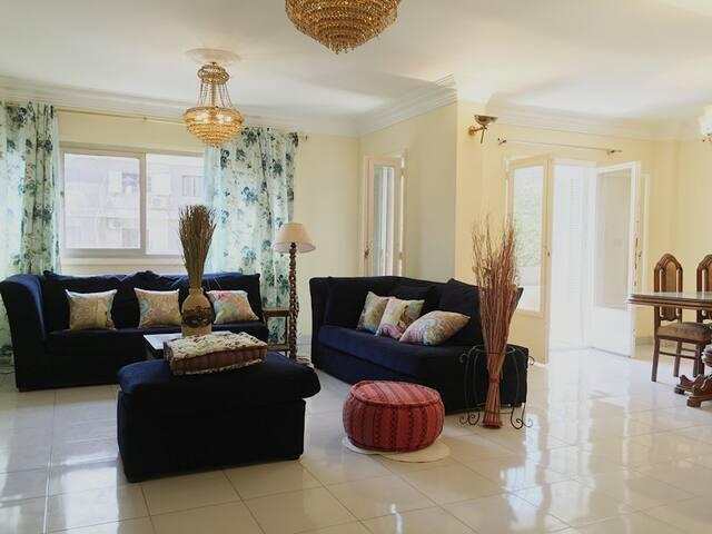 Cairo old maadi luxury flat - Ezbet Fahmy - Apartment