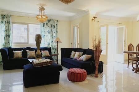 Cairo Maadi sunny flat - Ezbet Fahmy - Lägenhet