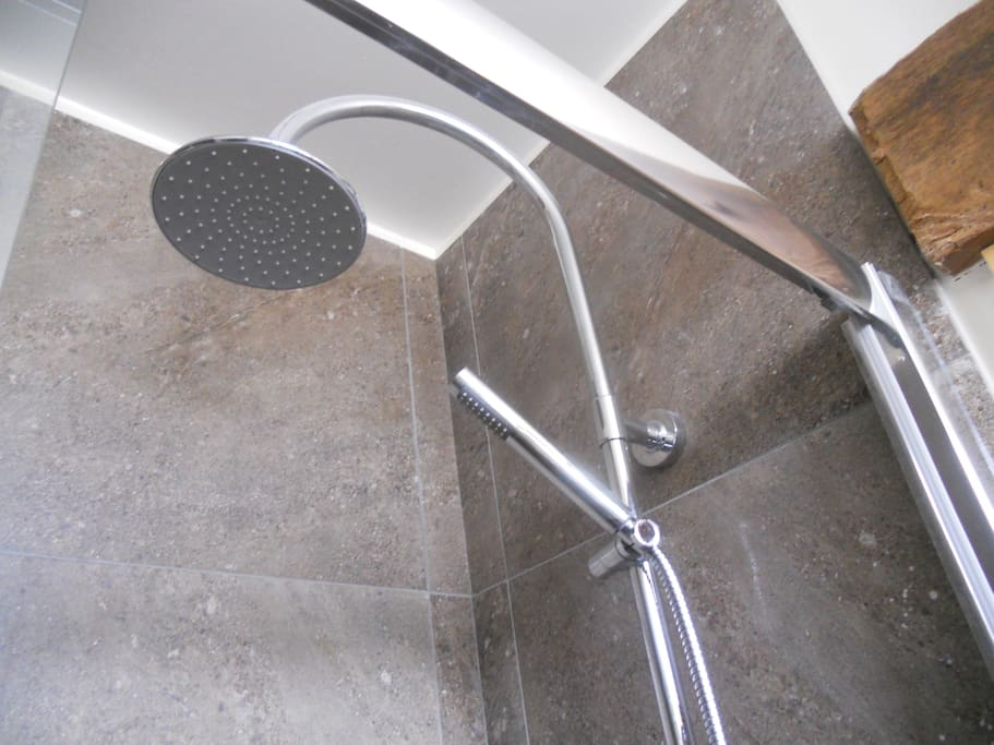 Large headed shower