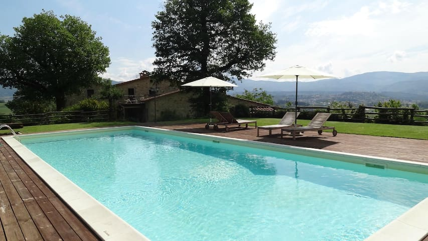 Poggio a Poppi - Elegant Country house in Tuscany - Poppi