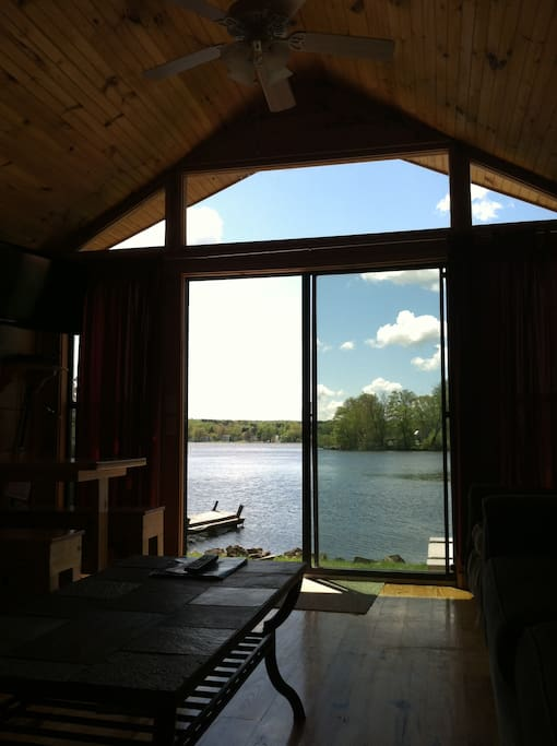 LAKEFRONT CABIN VIEW