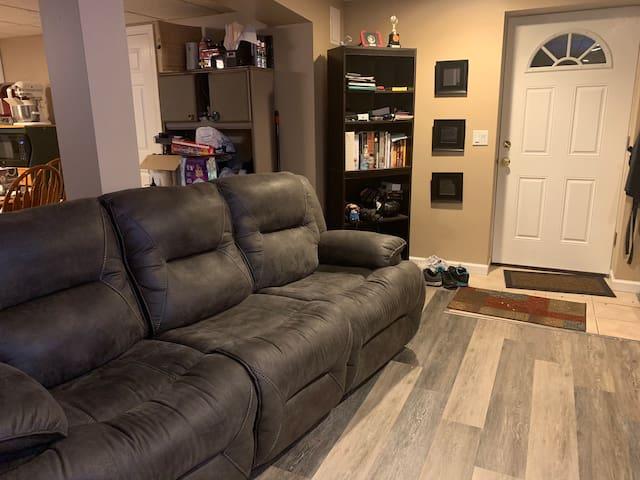 A comfortable studio