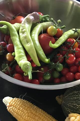 Home grown produce