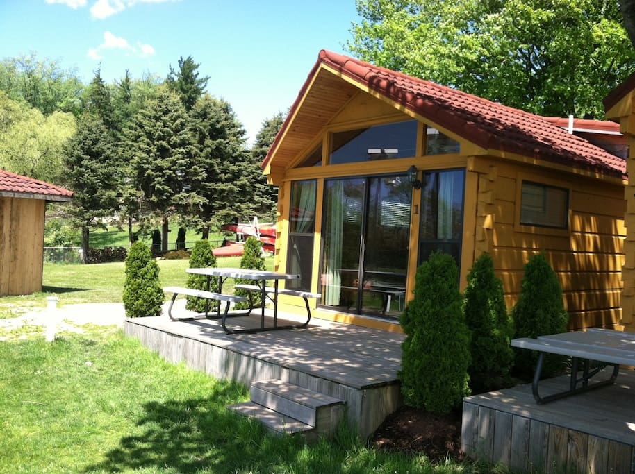 Lakefront Cabins 1 Cabins For Rent In Edinboro