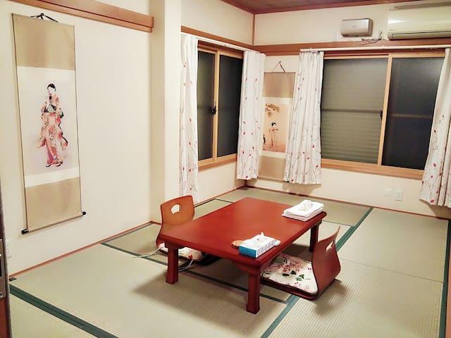JR赤羽站~ 东京北交通枢纽附近的独立卫浴日式四人房,14分直达新宿 - Kita - Willa