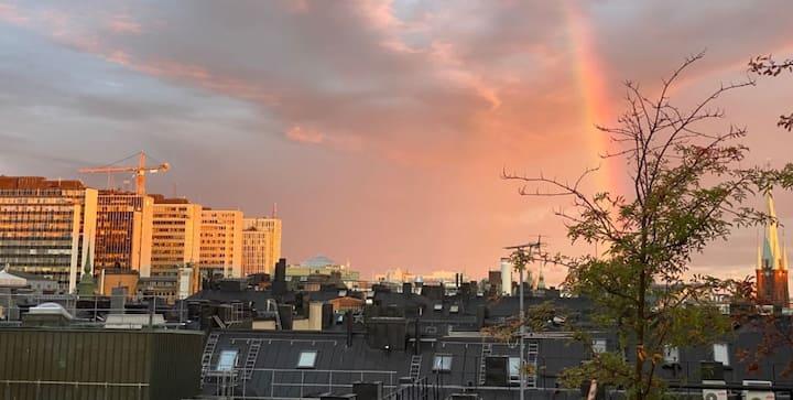 Boende med fin utsikt i Stockholm City