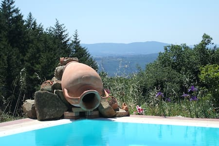 private house with pool in chianti - Castelnuovo Berardenga