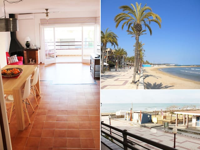 Beautiful seafront apartment  - Cubelles - Apartemen