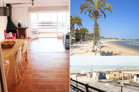 Beautiful seafront apartment  - Cubelles