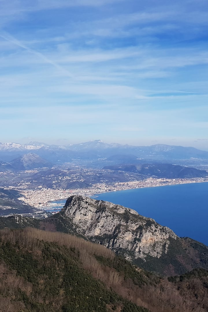 Mount Falerio and Salerno