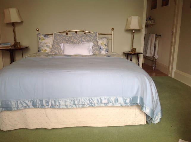 Cefn Parc White bedroom - Brecon - 一軒家