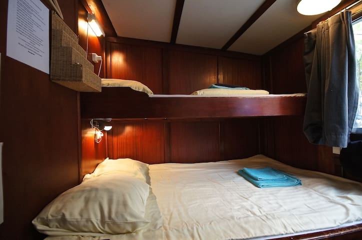 Double bedroom on a barge in Paris #2