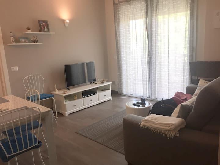 Appartamento a Rimini, vicino al mare, con garage.