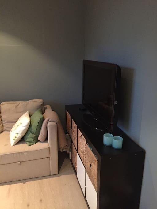 Tv-room on ground floor