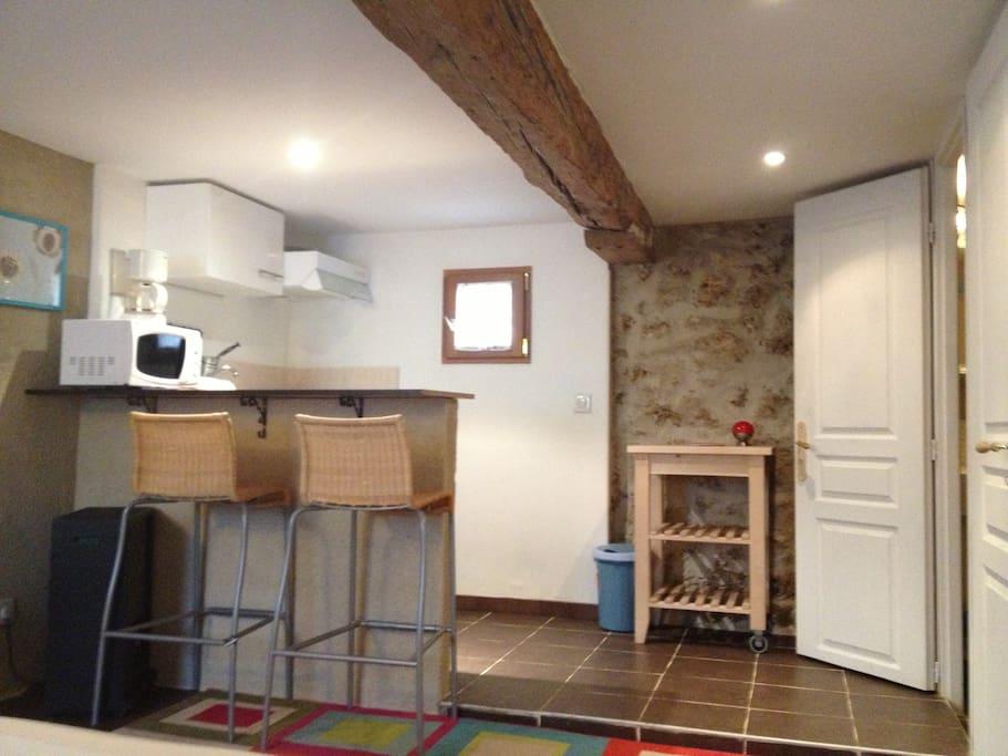 Studio meubl avec jardin appartements louer saint - Location studio meuble ile de france ...