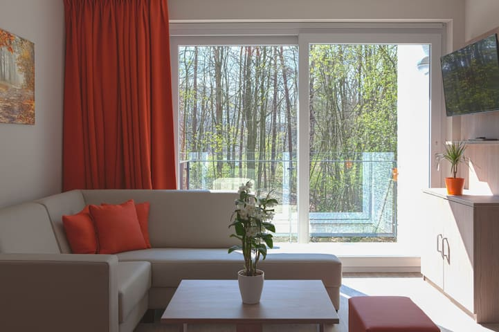 Fully equipped apartment close to Genk and Hasselt