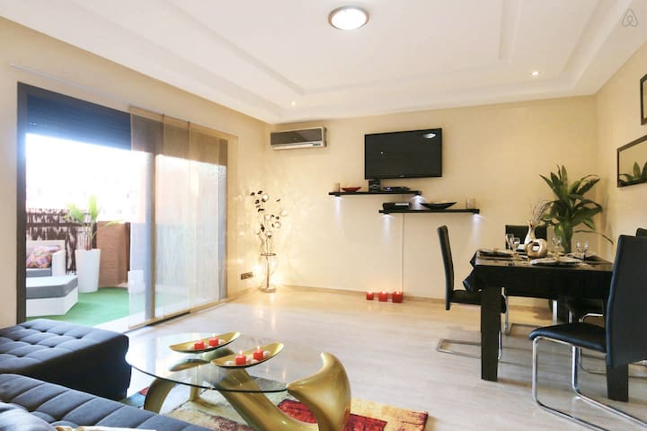New Flat on City Center Marrakech - Marrakech - Apartment