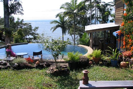 Pivate home with ocean  views  - Flying Fish Point - Maison
