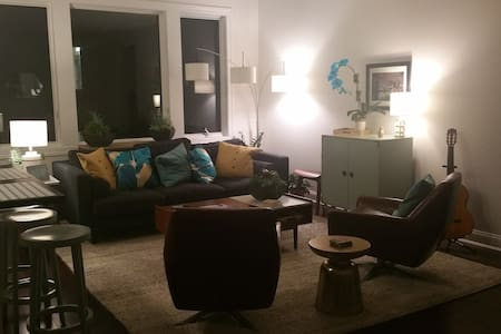 Minutes from NYC -- Quiet Modern Private - Cliffside Park - Wohnung