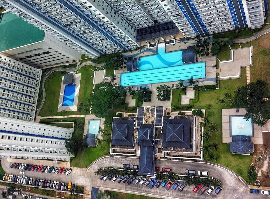 Aerial view of Grass Residences