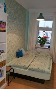 Private room waterbed in gardenhouse near old town - Berlin - Apartmen