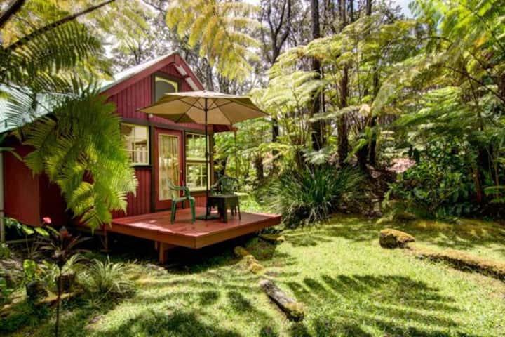 Private, Romantic Cottage in Volcano Village