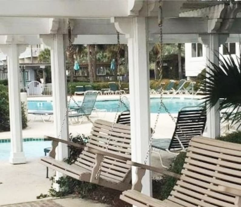 Pool and Gazebo Area